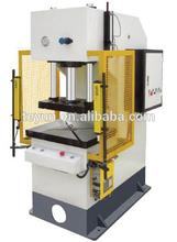 Single hydraulic press machine, YD41-40T series C frame door press machine,metal forming and stamping machine