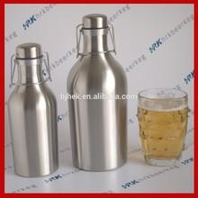 64Oz/1/2 gallon glass growler- Craft Beer Bar Brewery Bottles 2 Liter Keg