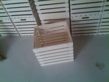 plywood wooden crate for vegetable or fruits