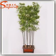 2015 Guangzhou high quality cheap lucky artificial bamboo plants for sale mini bonsai bamboo tree