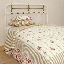 Shanghai honour red flowers Microfiber quilt/bedding set/bedspread
