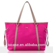 Fashion design nylon jelly tote bag for women