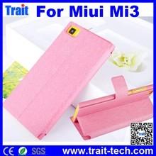 Case Cover For Xiao Mi Mi3, Case with Card Slot for Miui Xiaomi Mi3
