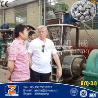 2015 New Products High Pressure Mineral Coal Powder Briquette Machine