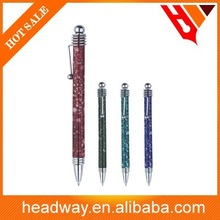 new design customized high quality plastic ball point pen
