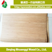 wholesale Carbonized lateral pressure bamboo veneer sheets