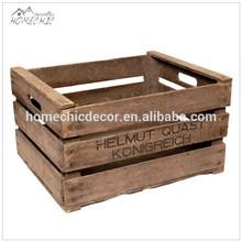 Vintage wooden fruit storage crate for sale