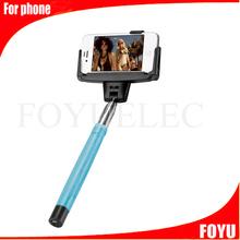 Factory OEM logo type D09 Model Handheld selfie stick Monopod bluetooth self timer 2015