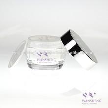 50G Mushroom Jar Acrylic Cosmetics Aluminum Cream Packaging