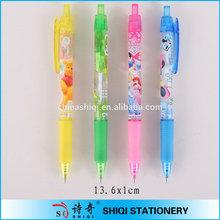 Logo print advertising wholesale plastic school pens