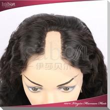 Isabel hair Alibaba china new human hair wig full lace wig brazilian virgin u part wig for sale
