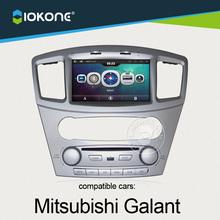 manufacturer 8inch dashboard car GPS system radio multimedia player for Mitsubishi Galant