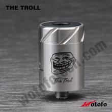 The troll RDA Atomizer Authentic RDACopper/white/black Original Wotofo The Troll Rda atomizer origen v2 genesis Vape pen vapor