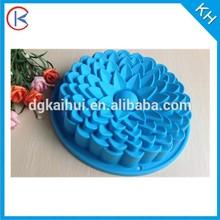 FDA sun flower shape silicone muffin pan