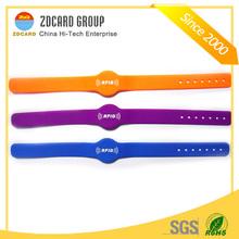 Silicone 2012 popular rfid silicone wristbands