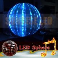 Shenzhen Sunrise p6 indoor led display/high resolution led matrix display module/3d led display globe