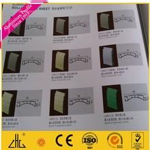 En alliage de roulement porte usine / vendeur / exportateur / fabrication, De porte de roulement en aluminium profil de la chine, Bonne qualité de volet roulant