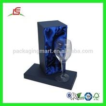 Q618 Custom Printed Cheap Cardbroad Single Wine Glass Box Made In China