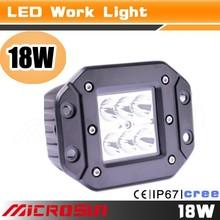 Newest! high power 18w auto led working light jeep light