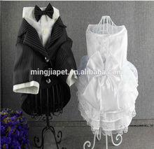 Pet fashion of newly tuxedo dress
