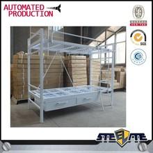 School Dorm Loft Bed Bunk Bed with Storages