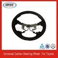 fibra de carbono universal direcção roda apto para toyota