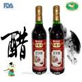 Vinagre maduro Shanxi preparado al natural, en envase de 500 ml, con sabor a ajo