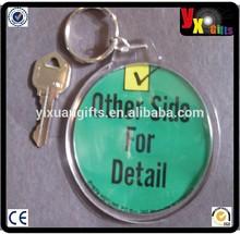 """1979 Other Side Vintage originale 3 """" bouton porte-clés photo rétro drôle Slogans"""