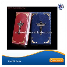 AWC041 special book design 6000mah high-end power bank for all the digital camera