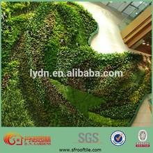 vertical garden green wall top soil