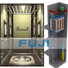 Fuji Brand Elevator with Machine Room ,VVVF Drive, Passenger Elevator