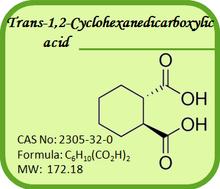 CAS No.: 2305-32-0 Lurasidone Intermediate- Trans-1,2-Cyclohexanedicarboxylic acid
