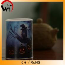 RoHS/CE/EMC pumkin Halloween party decoration led luminara candle