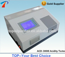 ASTM D974 Petroleum Products fully automatic diesel fuel oil acid test kit model ACD-3000I, 6 cups, English menu