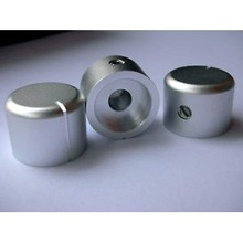 OEM/ODM CNC thread aluminum volume knob