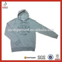 simple Pullover/ Sweatshirts/ Customized CVC Fleece Hoodies