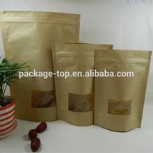aluminum foil printing kraft paper bag for coffee beans tea bags