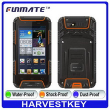 Bottom price hot sale X2 4.5 inch IP68 Waterproof waterproof rugged senior hand phone