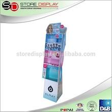 Custom POP up makeup display rack,cosmetic display rack