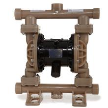 QBY3 air operated pneumatic diaphragm pump in teflon made in china GODO diaphragm pump