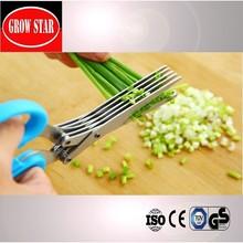 Perfect culina black titanium herb scissors