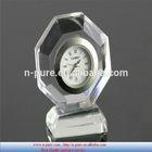 Unique top quality personalized desk crystal clock