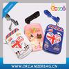 Encai Wholesale Fashion Cartoon Neck Phone Pouch Cute Zipper Mobile Phone Case PU Cell Phone Bag