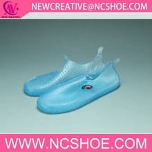 trasparent aqua shoes water shoes surfing shoes for woman