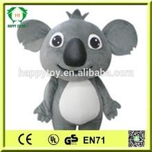 HI CE Hot!!Koala mascot costume for adults, animal Koala costume,movie Koala character mascot