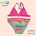 Modificado para requisitos particulares niño rosado lindo Hello Kitty Bikini