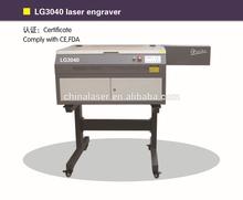 Hot Sale G. Weike MINI Desktop lg3040 Laser Engraving Machine