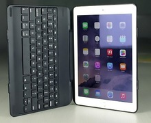 Folio Case with backlit Bluetooth Keyboard for iPad Air 2