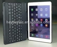 Folio Case with backlit Bluetooth Keyboard for iPad Air 2