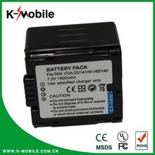 7.4V 1400mAh Camcorder Camera Battery for Panasonic VW-VBD140/CGA-DU14 Digital Camera Battery